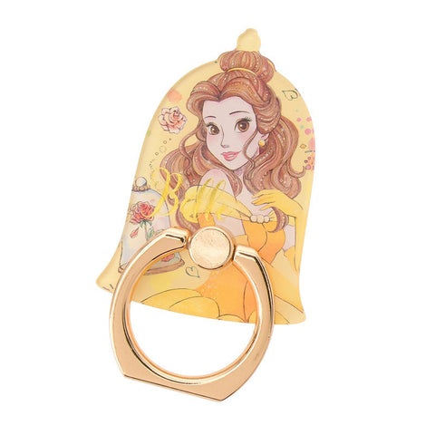 Belle Smartphone Ring urukira Glitter Disney Store Japan Beauty and the Beast