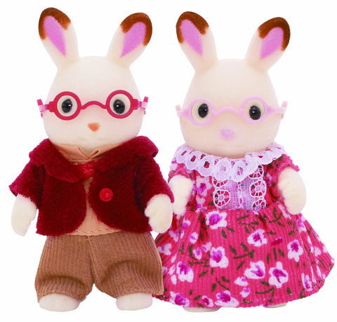 Chocolate Rabbit Grandparents 4627 UK Sylvanian Families Japan EPOCH