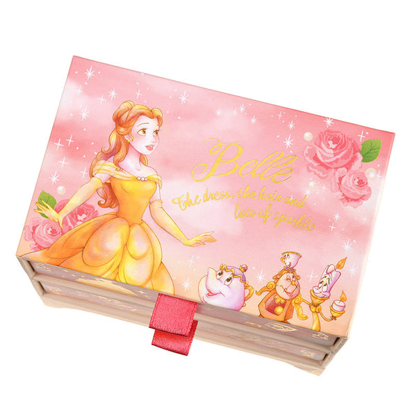 Belle Sticky Memo with Box Water Color Disney Store Japan Beauty and the Beast