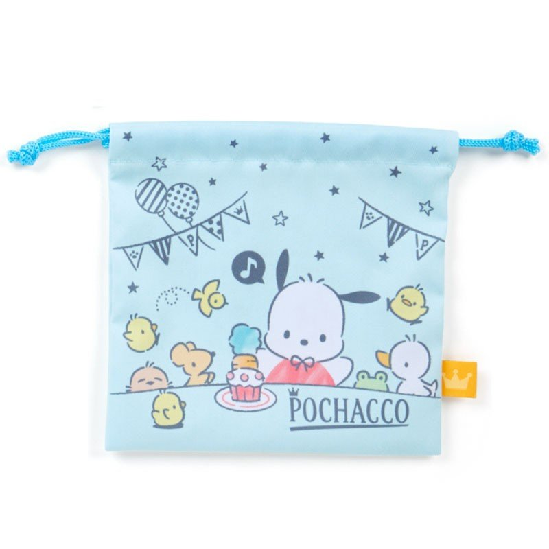 Pochacco Drawstring Pouch 2pcs Set Birthday Sanrio Japan