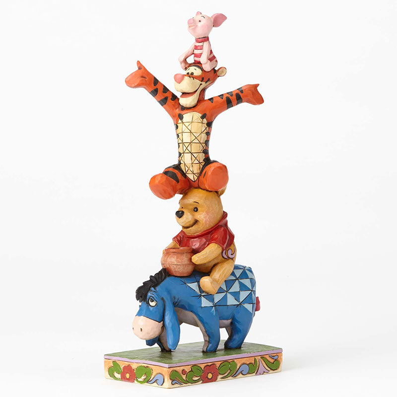 Winnie the Pooh Eeyore Piglet Tigger Figure enesco DISNEY TRADITIONS Japan