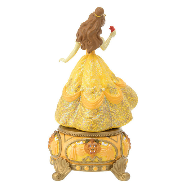 Belle Figure Music Box Story Disney Store Japan Beauty and the Beast