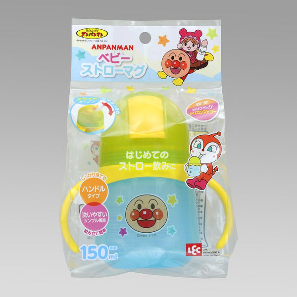 Anpanman Baby Straw Mug Cup 150ml Japan Kids KK-182