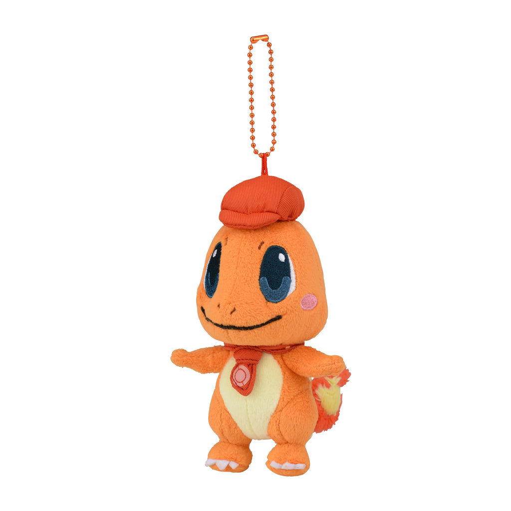 Charmander Hitokage Plush Keychain Pokemon Cafe Mix Center Japan