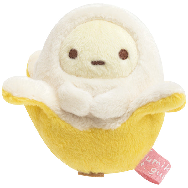 Sumikko Gurashi Tapioca Banana mini Tenori Plush Doll Penpen Fruits San-X Japan
