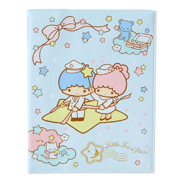 Little Twin Stars Passport Case Cover Sanrio Japan Kiki Lala