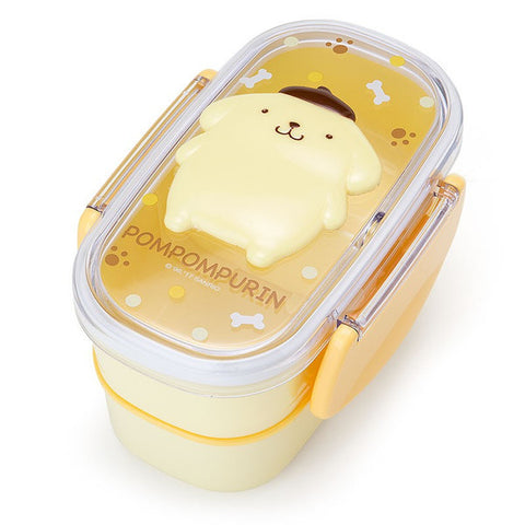 Pom Pom Purin 2stage Lunch Box Bento Relief Sanrio Japan