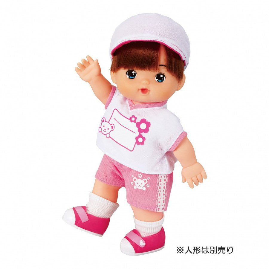 Costume for Mell Chan Gym Suit Set Pilot Japan Pretend Play Toys