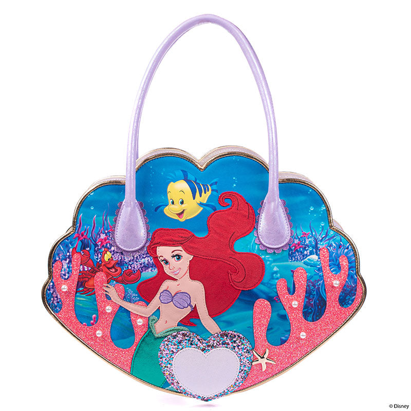Ariel Flounder Sebastian 2WAY Tote Shoulder Bag Irregular Choice Disney Japan