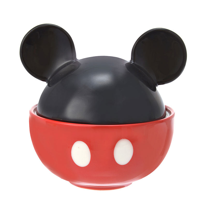 Mickey Donburi Big Bowl Icon Body Disney Store Japan