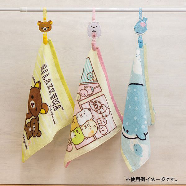 Jinbei San Whale Shark Loop Clip Towel Holder San-X Japan