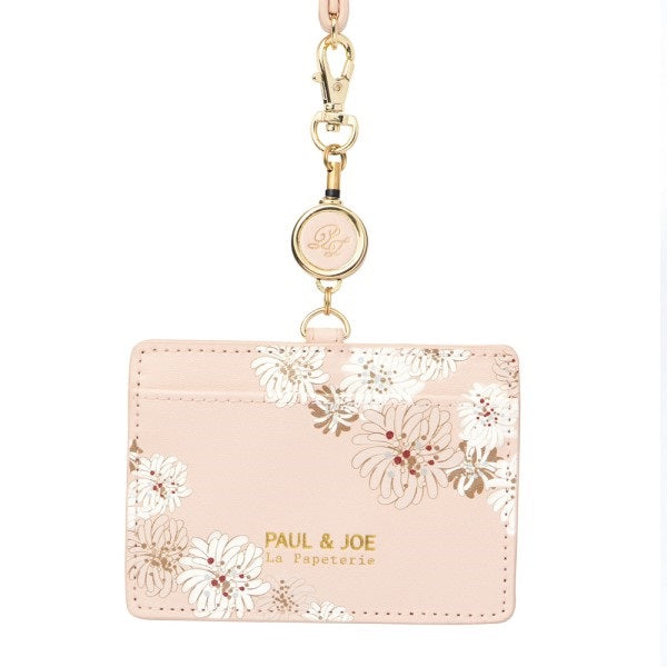 ID Card Case Chrysanthem Pink PAUL & JOE Japan