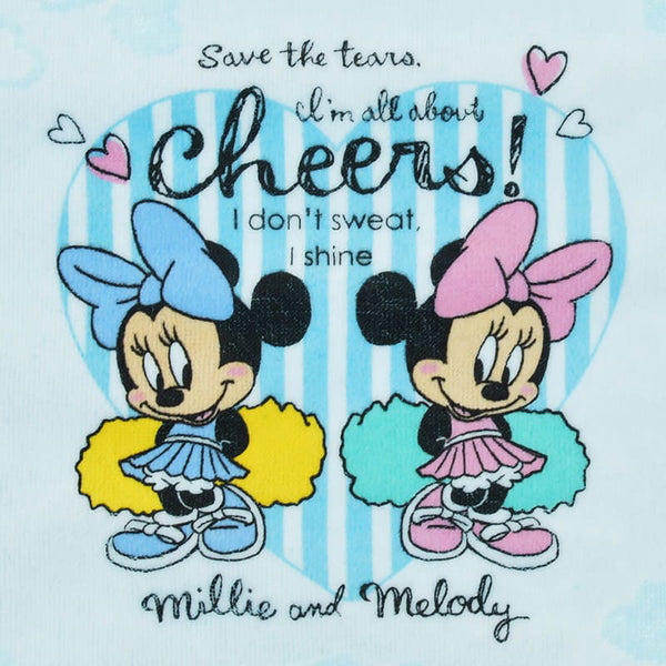 Millie & Melody Towel Set CHEER UP! Disney Store Japan