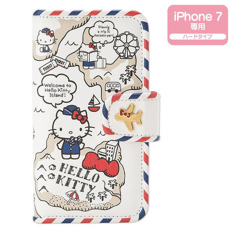 Hello Kitty iPhone 7 Case Cover Travel Sanrio Japan
