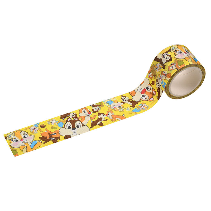 Chip Clarice Dale Decoration Tape 30mm Disney Store Japan