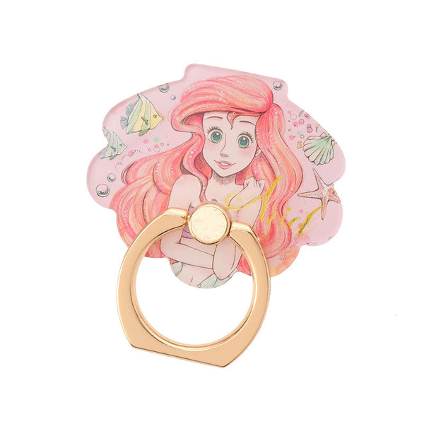 Little Mermaid Ariel Smartphone Ring urukira Glitter Disney Store Japan