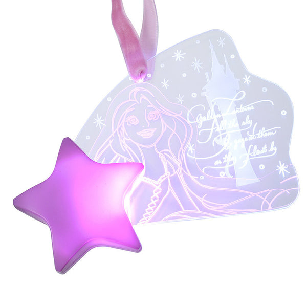 Dreamy Luna Princess Rapunzel Light Ornament Disney Store Japan