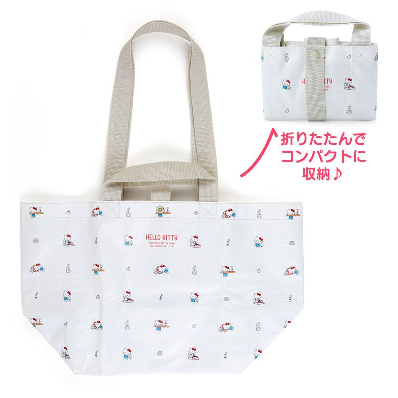 Hello Kitty PP Tote Bag Sanrio Japan