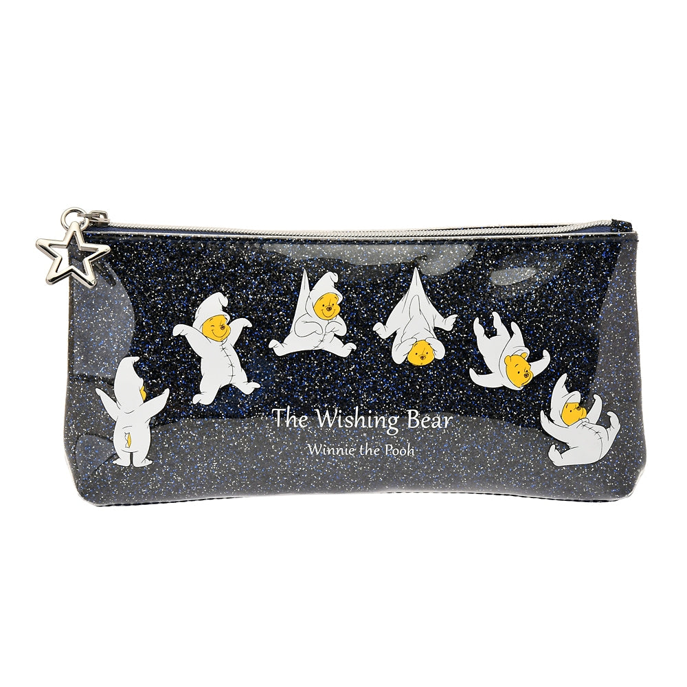 Winnie the Pooh Pen Case Pencil Pouch The Wishing Bear Disney Store Japan
