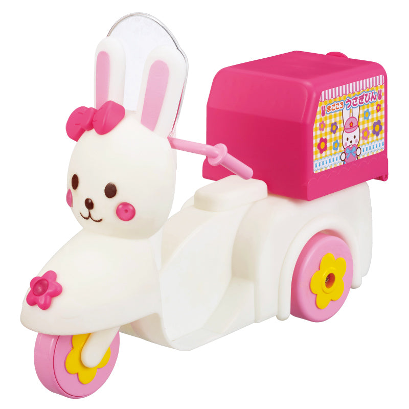 Delivery Rabbit Motorcycle Set Mell Chan Goods Pilot Japan Toys