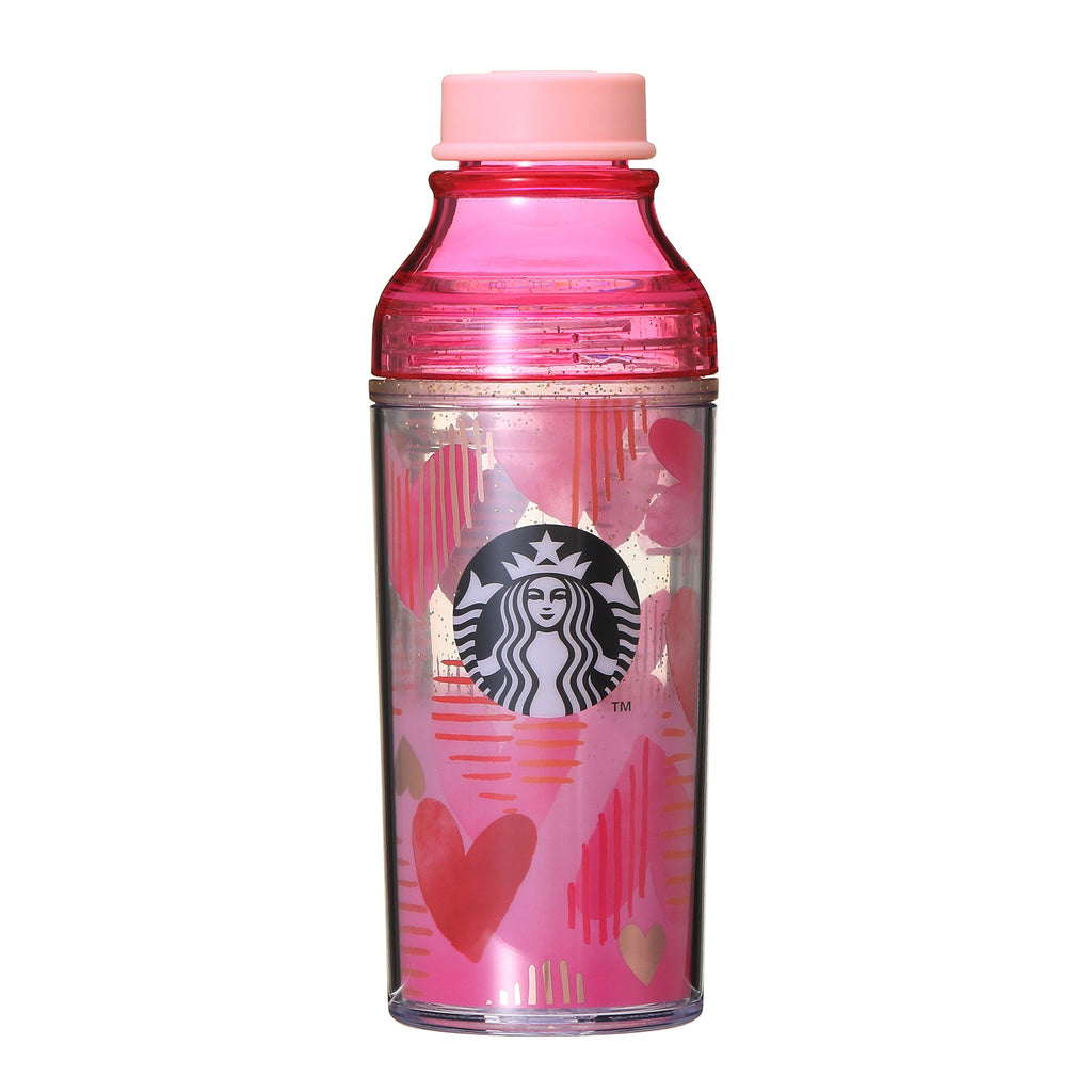Double Wall Sunny Bottle 473ml Valentine's Day 2019 Starbucks Japan