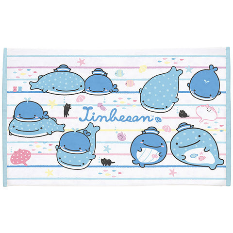 Jinbei San Whale Shark Bath Towel L Swim San-X Japan