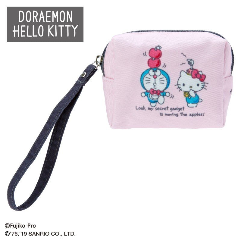 Doraemon & Hello Kitty mini Pouch Sanrio Japan 2019