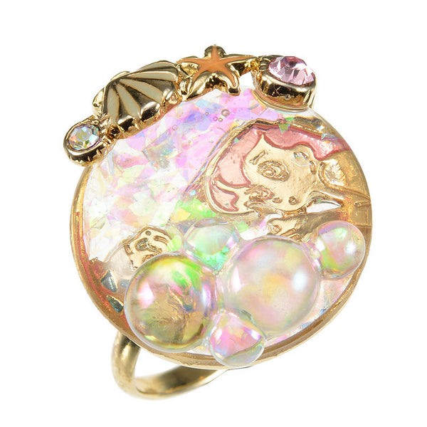 Ariel Ring THE LITTLE MERMAID 2018 Disney Store Japan Accessory