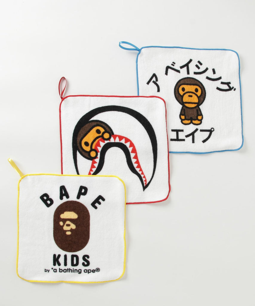 BABY MILO HAND TOWEL SET K A BATHING APE Japan