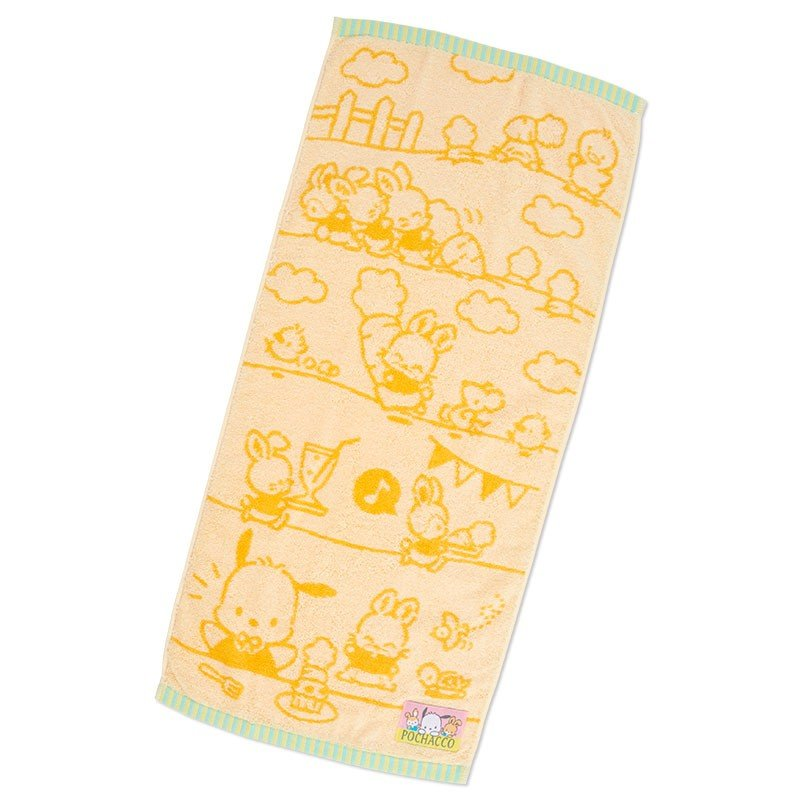 Pochacco Face Towel Birthday Sanrio Japan