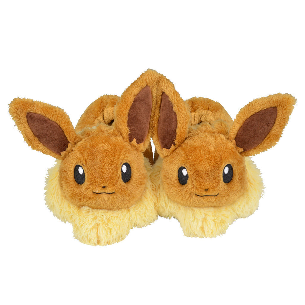 Eevee Eievui Plush Slippers Room Shoes MOFU-MOFU PARADISE Pokemon Center Japan