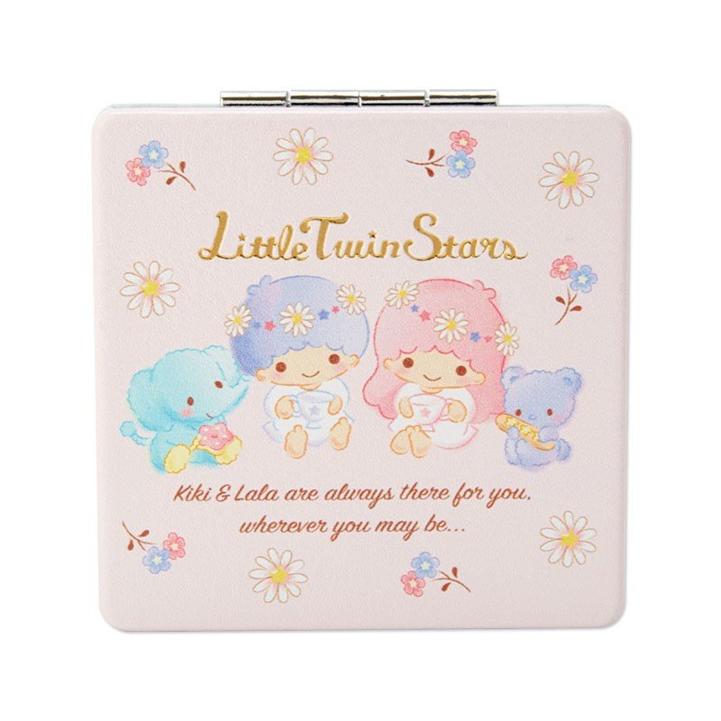 Little Twin Stars Kiki Lala Double Mirror HAPPY SPRING Sanrio Japan