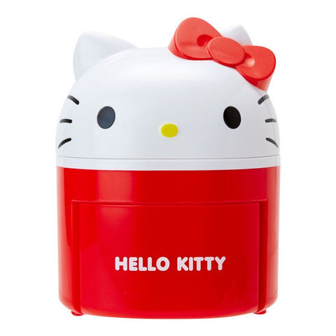 Hello Kitty mini Box Face Sanrio Japan Car Goods Dust Box
