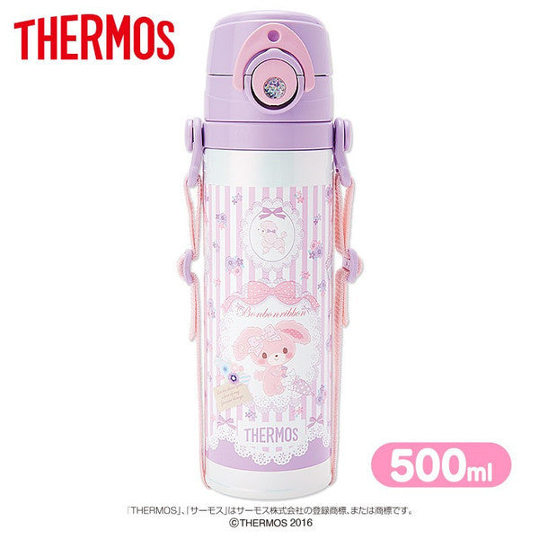 Bonbonribbon Thermos Sports Bottle 500ml Dog Sanrio Japan