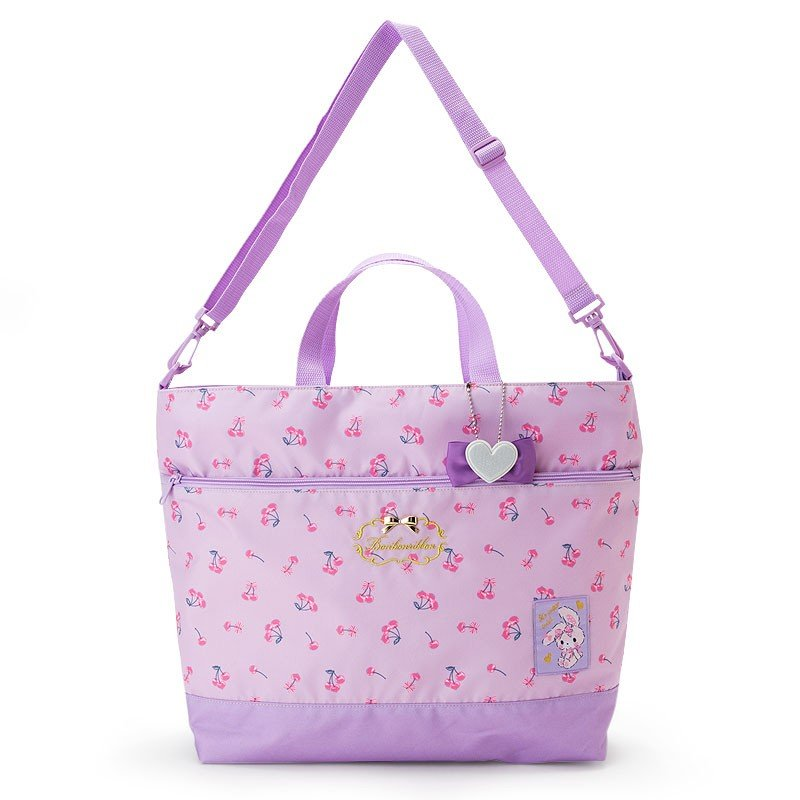 Bonbonribbon 2WAY Tote Shoulder Bag Cherry Sanrio Japan