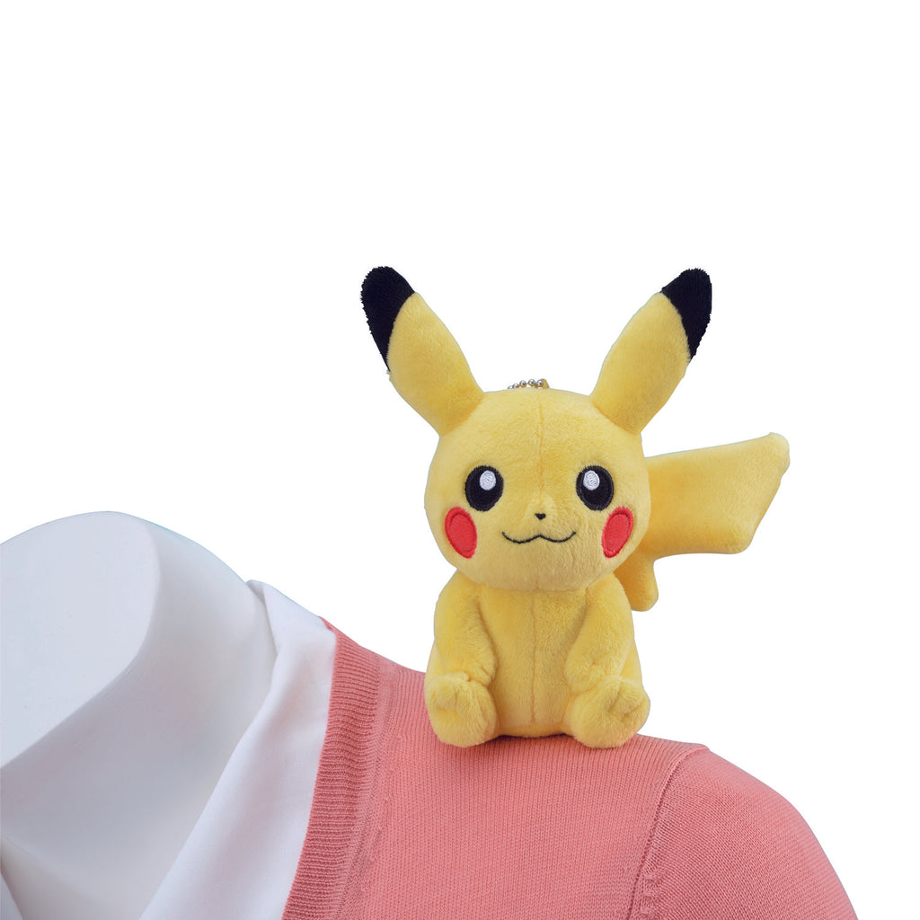 Pikachu Plush Doll with Magnet Pokemon Center Japan Original