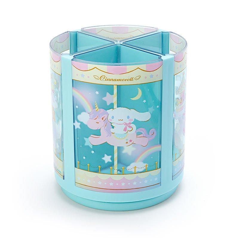 Cinnamoroll Roating Pen Stand Merry-go-round Sanrio Japan