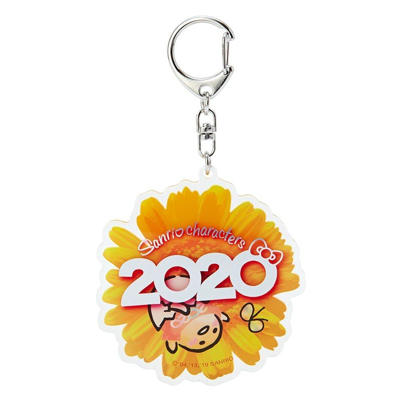 Gudetama Egg Acrylic Keychain Key Holder Sanrio characters 2020 Japan