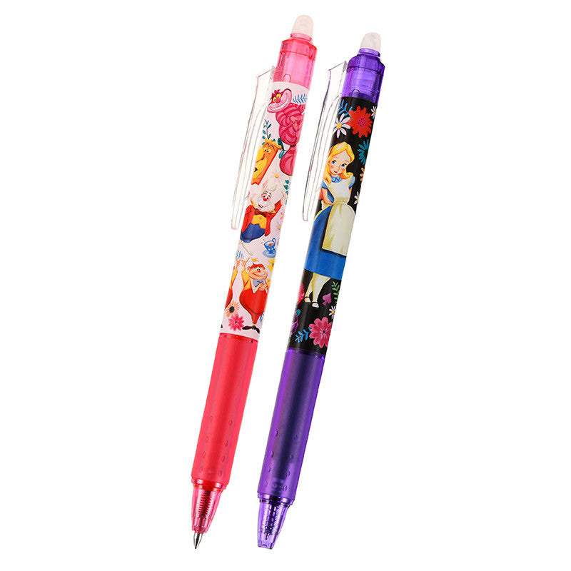 Alice in Wonderland Frixion Ball 0.5 Erasable Pen Wonder Trip Disney Store Japan