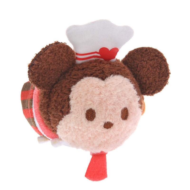 Mickey Plush Doll Tsum Tsum mini S Valentine 2017 Disney Store Japan