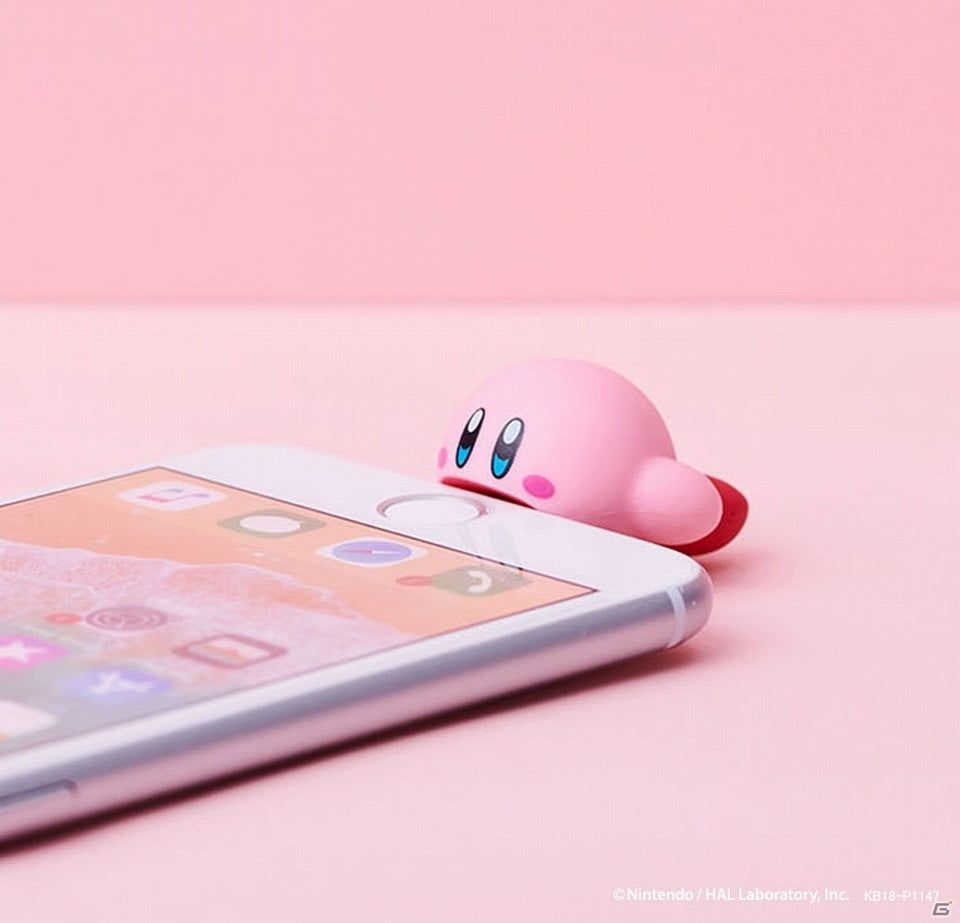 Kirby CABLE BITE Protection for iPhone Mobile Accessory Kirby's Dream Land Japan