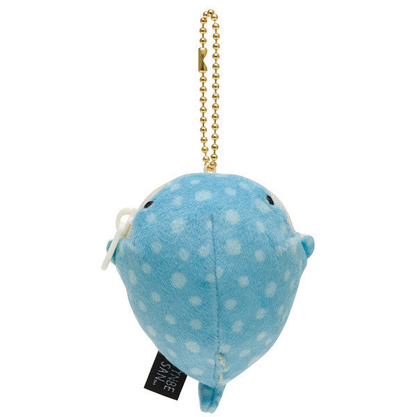 Jinbei San Whale Shark mini Plush Coin Case Pouch 2017 San-X Japan