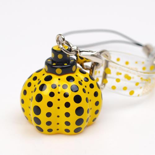 Yayoi Kusama Pumpkin Yellow Mobile Strap Accessory Japan Artist