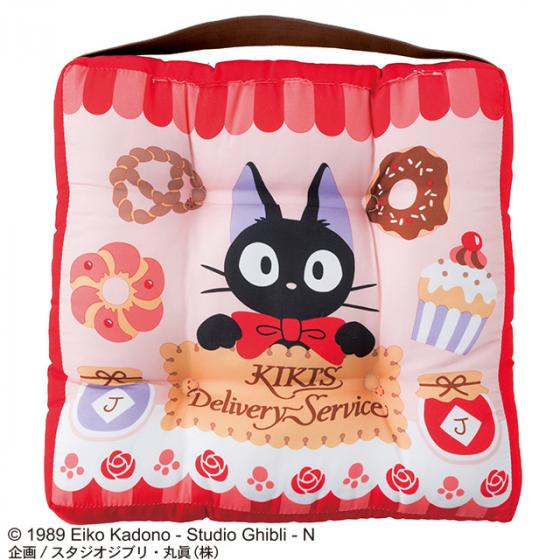 Kiki's Delivery Service Jiji School Seat Cushion Store Studio Ghibli Japan Cat