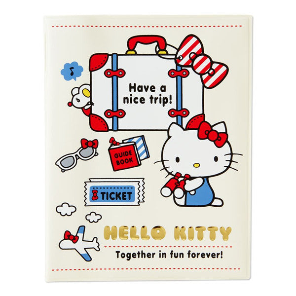 Hello Kitty Passport Case Cover Sanrio Japan