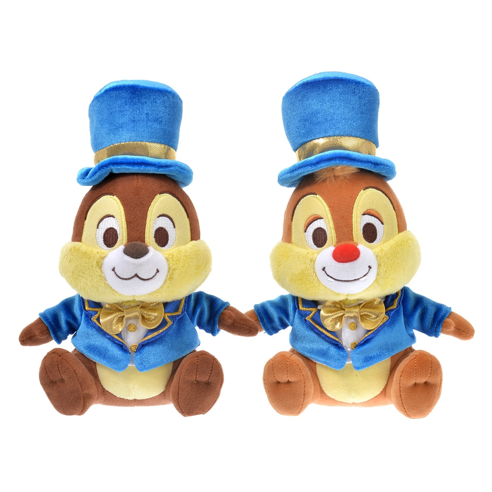 Chip & Dale Plush Doll TOKYO DISNEY RESORT STORE 20th Anniversary Japan