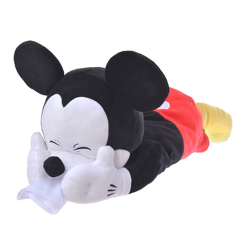 Mickey Plush Tissue Box Cover KAFUN 2020 Pollen Disney Store Japan