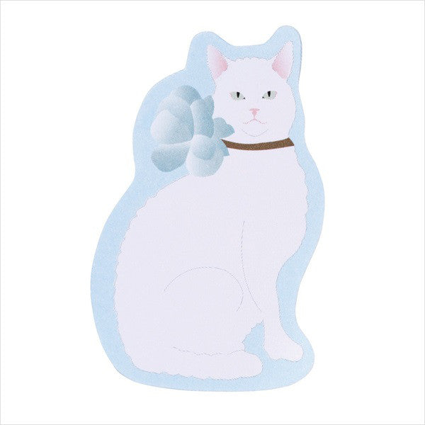Dog Cat Macaroon Sticky Memo Note Box Set Marguerite Blue Laduree Japan