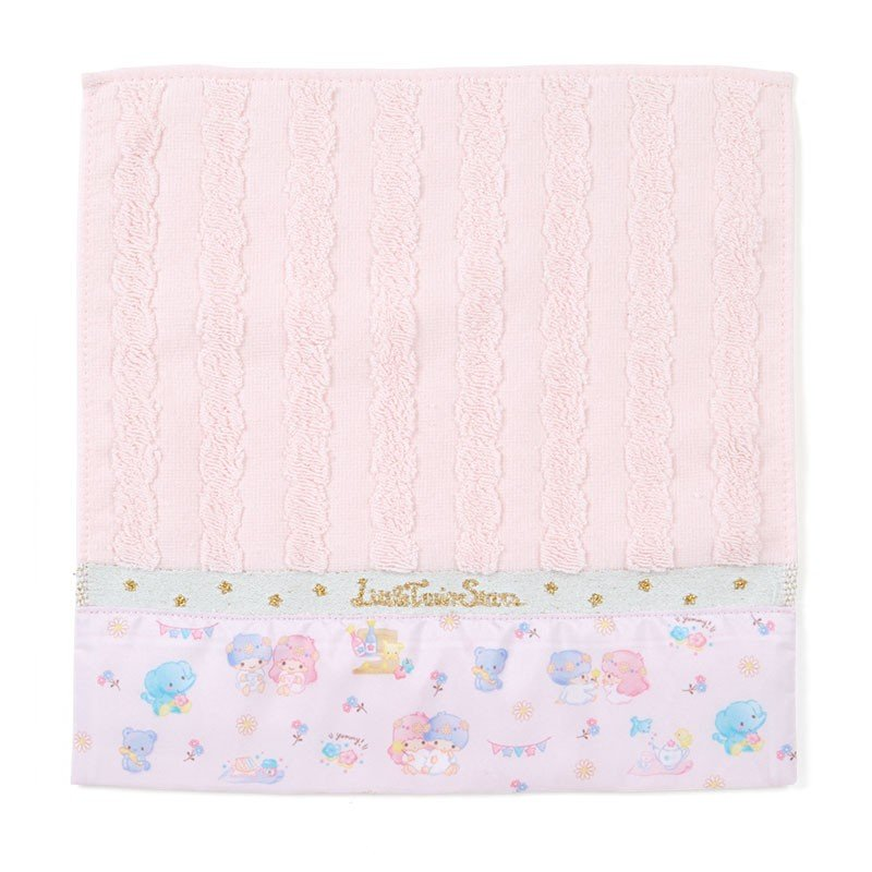 Little Twin Stars Kiki Lala mini Towel HAPPY SPRING Sanrio Japan