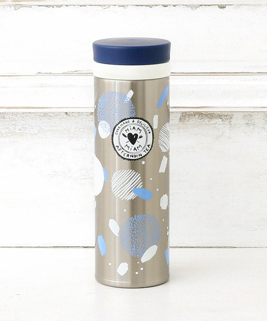Stainless Bottle 350ml Edith Carron Silver Afternoon Tea Japan